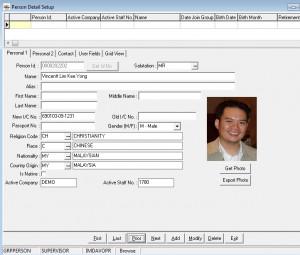 Personnel Management Human Resource Management System